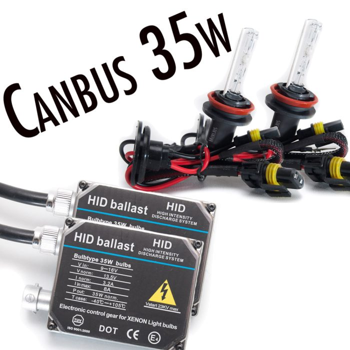 35w Canbus standard.