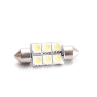37mm spollampa 6SMD