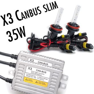 x3 35w canbus slim