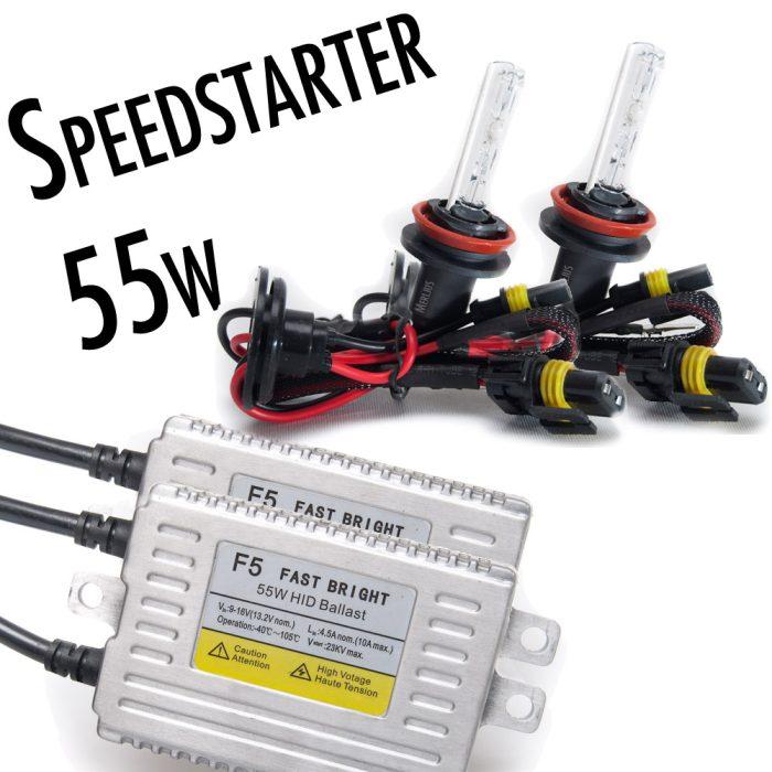 55w f5 speedstarters slim halvsats